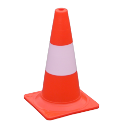 Traffic cone 40 cm fluorescent