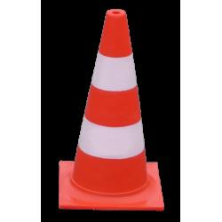 Orange traffic cone 50 cm