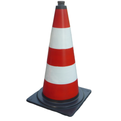 Traffic cone 75 cm  red U-23b